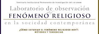 LABORATORIO DE OBSERVACIÓN DEL FENÓMENO RELIGIOSO