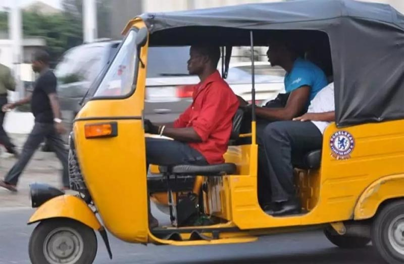 Keke drivers protest extortion by Police in Aba