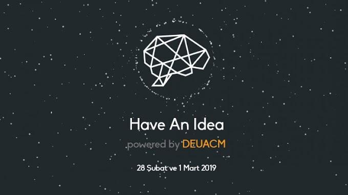 Have An Idea – Bi' Fikrin Olsun Etkinliği