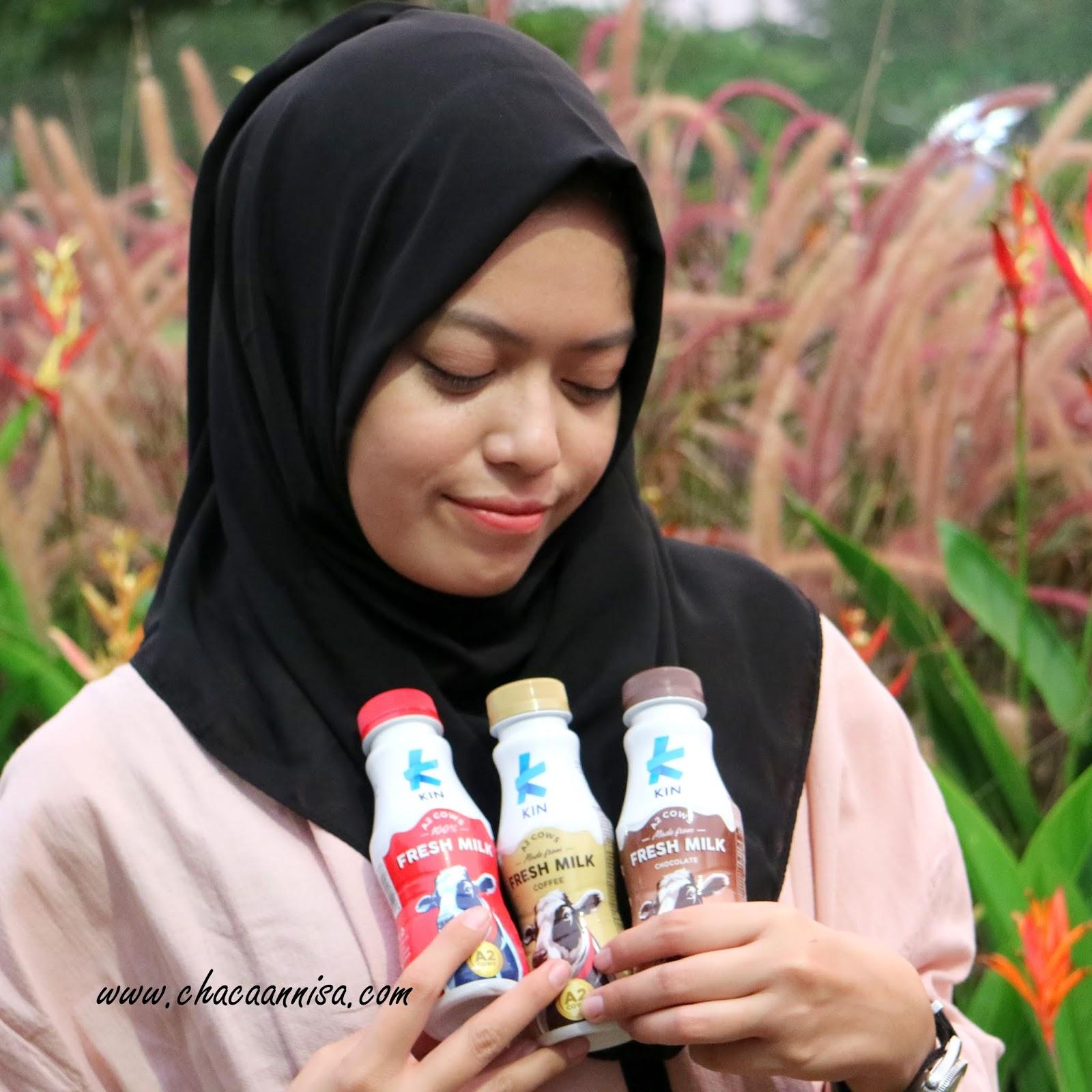 Chaca Annisa H Ovale Micellar Water Acne Skin 200ml Khusus Area Pulau Jawa Packaging Dari Kin Fresh Milk Ini Terbuat Botol Plastik Namun Walaupun Kemasannya Cukup Kokoh Dan Tidak Cepat Penyok