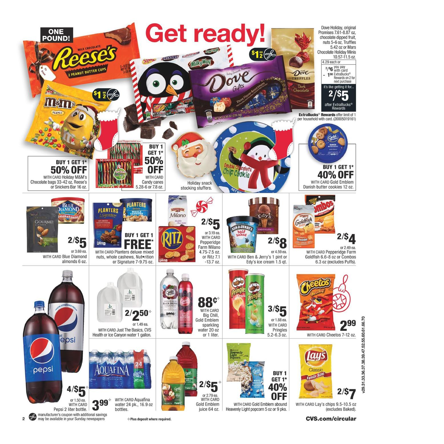 cvs weekly ad  10 holiday cash card december 9