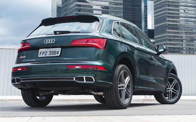 Audi convoca Q5 e SQ5 para recall - defeito na frenagem