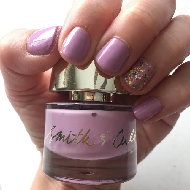 Throwback Thursday, #tbt, manicure, nails, nail polish, nail lacquer, nail varnish, nail art, Smith & Cult Fauntleroy, Deborah Lippmann Glitter And Be Gay