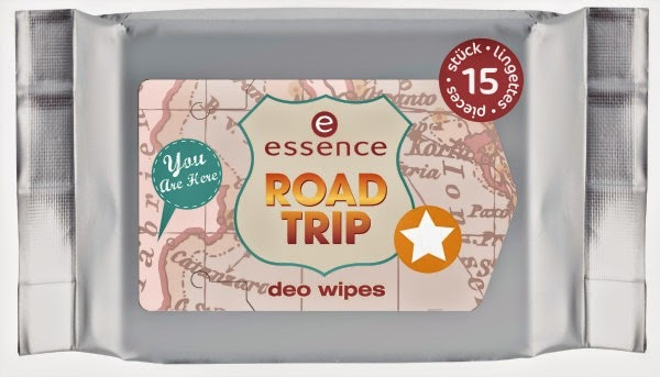 essence road trip – deo wipes