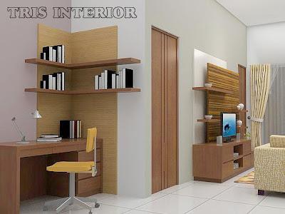 Desain Interior Setting Ruang Keluarga - Living Room