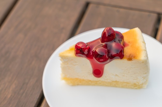 tarta de queso al estilo americano