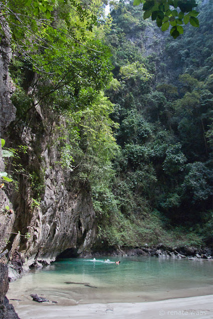 mit dem Klepper Faltboot in Thailand - Ko Muk Emerald Cave