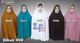jilbab syar'i OSD bahan jersey