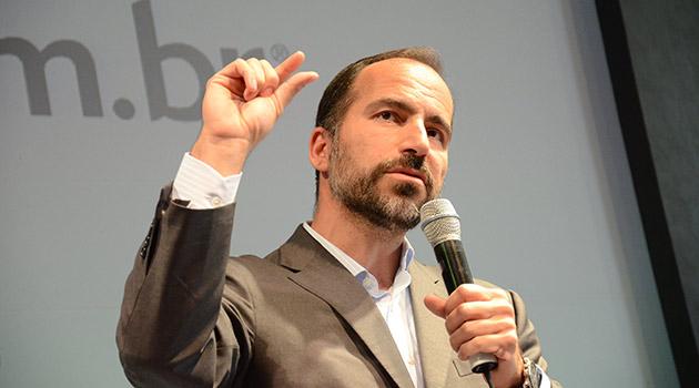 Dara Khosrowshahi foi anunciado como o novo chefe-executivo da Uber