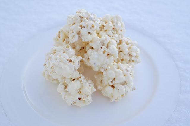 Popcorn-pallot, popparipallot, popcorn,vaahtokarkki, popcorn-vaahtokarkki