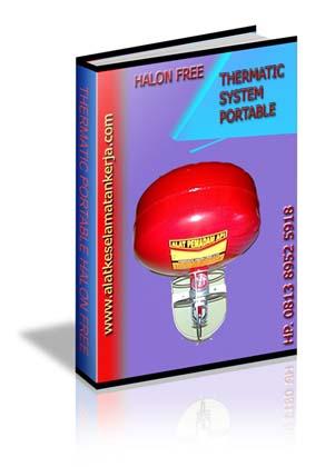 Alat Pemadam Jenis Thermatic Portable Auto Sprinkler Halon Free