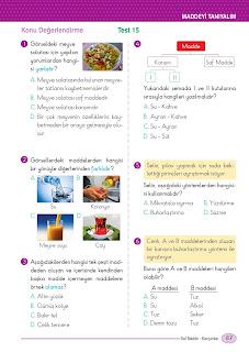 5. Sınıf Arapça Ders Kitabı Cevapları Mektep Sayfa 87