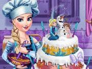 لعبة بنات طبخ كعكة زفاف ايلزا