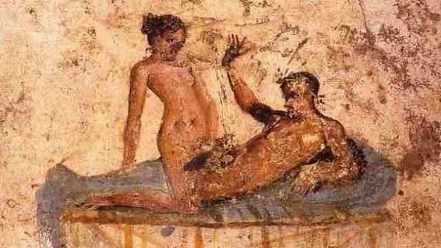 pompeya mural erotico