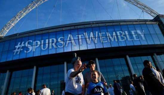 Gunakan Wembley, Tottenham Pecahkan Rekor Penonton di Liga Champions
