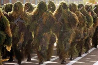 Iranian Sniper Squad Uniform