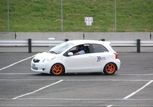 Autocrossing the Yaris