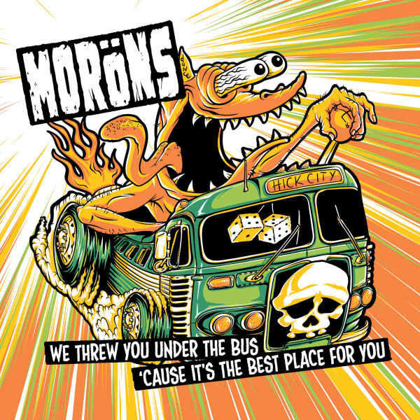 """The Moröns stream new EP """"We Threw You Under the Bus Cause It's the Best Place For You"""""""