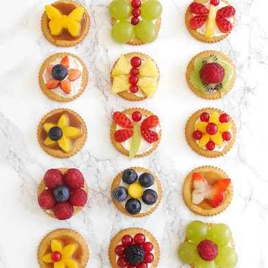 Bite-Size Fruit Tarts for Spring