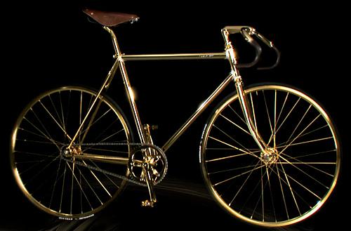 Aurumania Crystal Edition Gold Bike sepeda termahal di dunia
