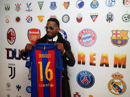D'banj deal with dugout UK
