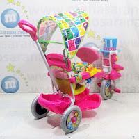 sepeda roda tiga royal 2 kursi