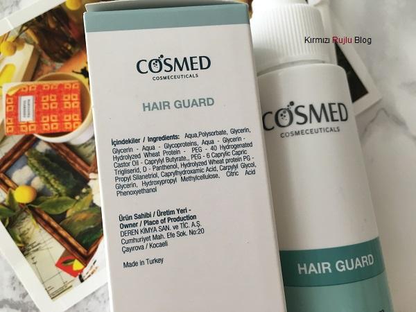 Cosmed Hair Guard Yenileyici Serum