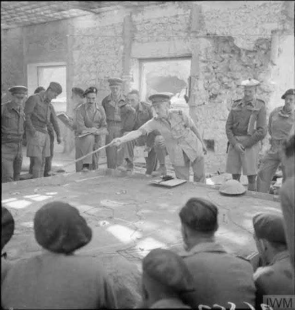 Royal Tank Regiment officers at a briefing, 29 November 1941 worldwartwo.filminspector.com