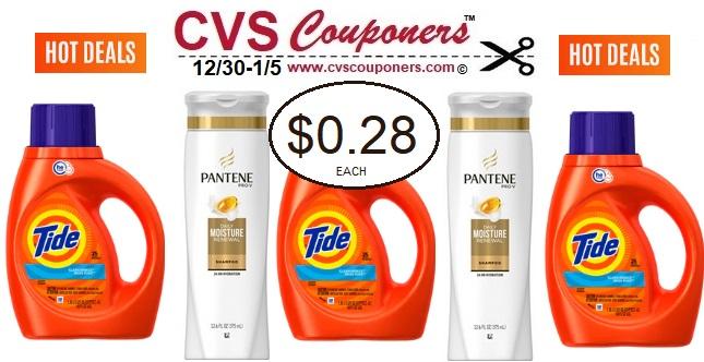 http://www.cvscouponers.com/2018/12/cvs-tide-liquid-detergent-pantene-deal.html