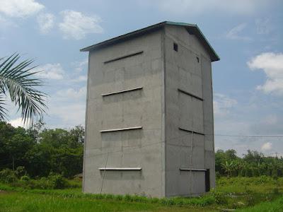 Berapa Standar Tinggi Bangunan Walet ?