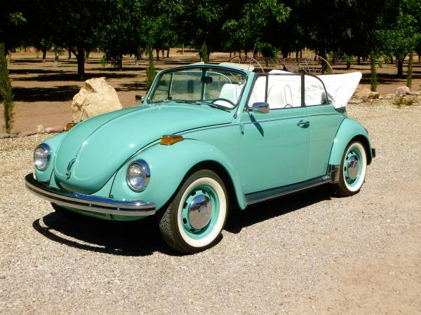 1971 Vw Super Beetle Convertible