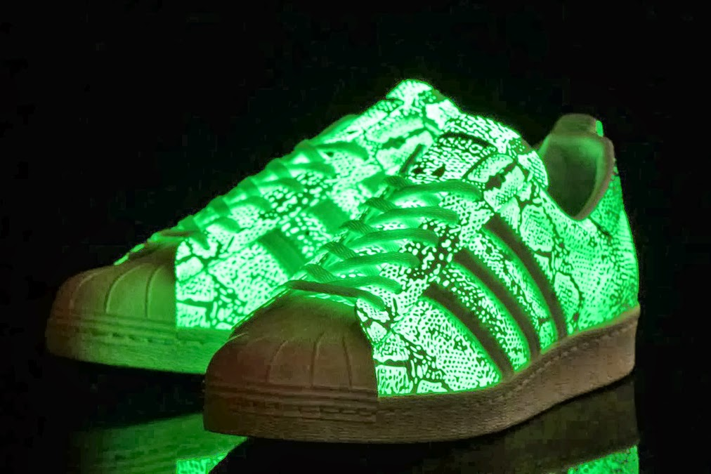 adidas superstar leuchtende schuhe