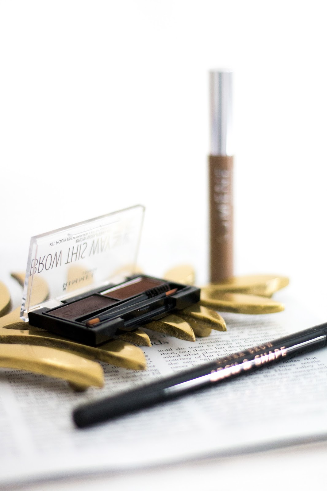Three affordable eyebrow products | eyebrow products