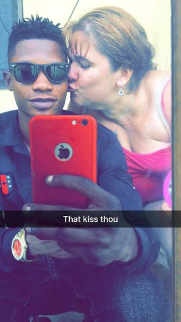 Young Nigerian man and his older British wife enjoy their honeymoon in Ado Ekiti