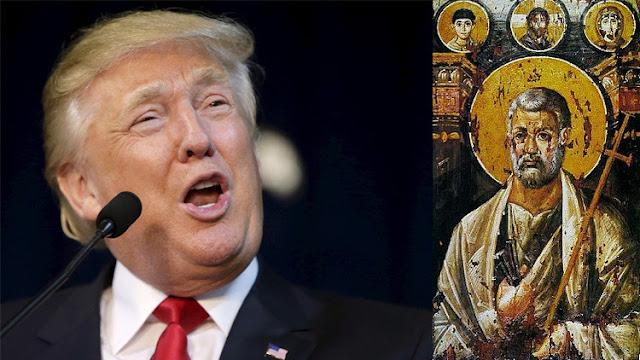"""""""Elegido por Dios"""": Un conocido predicador estadounidense compara a Trump con San Pedro"""