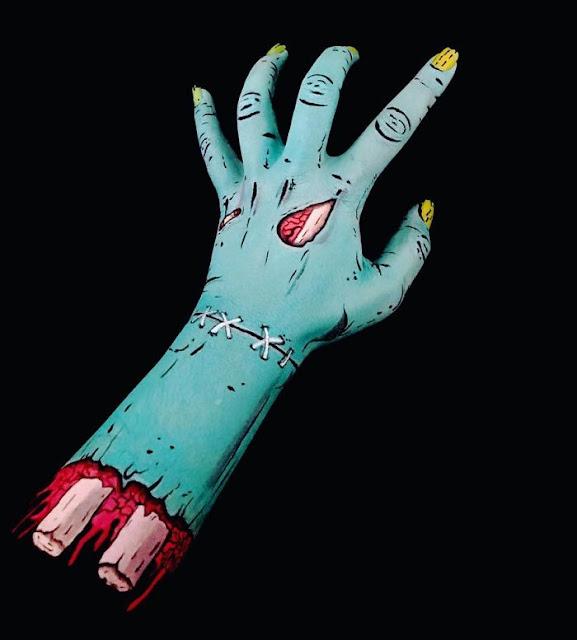 Body paint en un brazo
