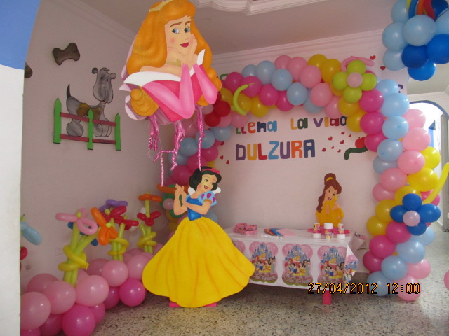 Decoracion Fiesta Princesas Disney Decoraci N Fiestas Of Decoracion - Decoracion-fiestas-infantiles-princesas