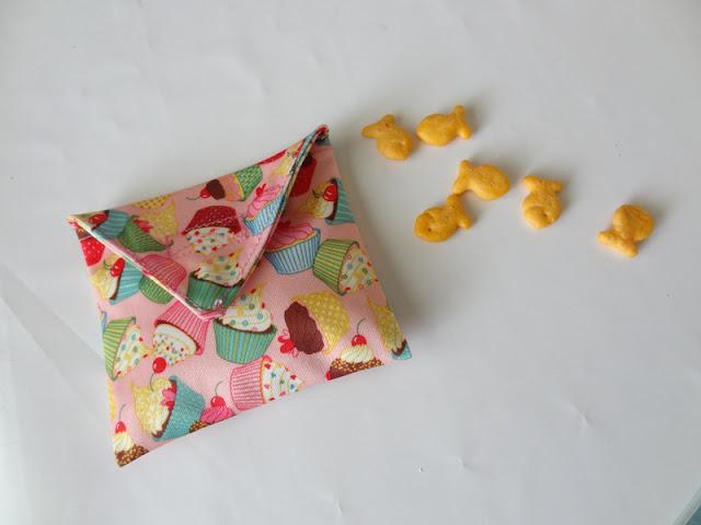Free Reusable Snack Bag Tutorial