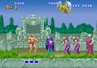 descargar videojuego portable Altered Beast