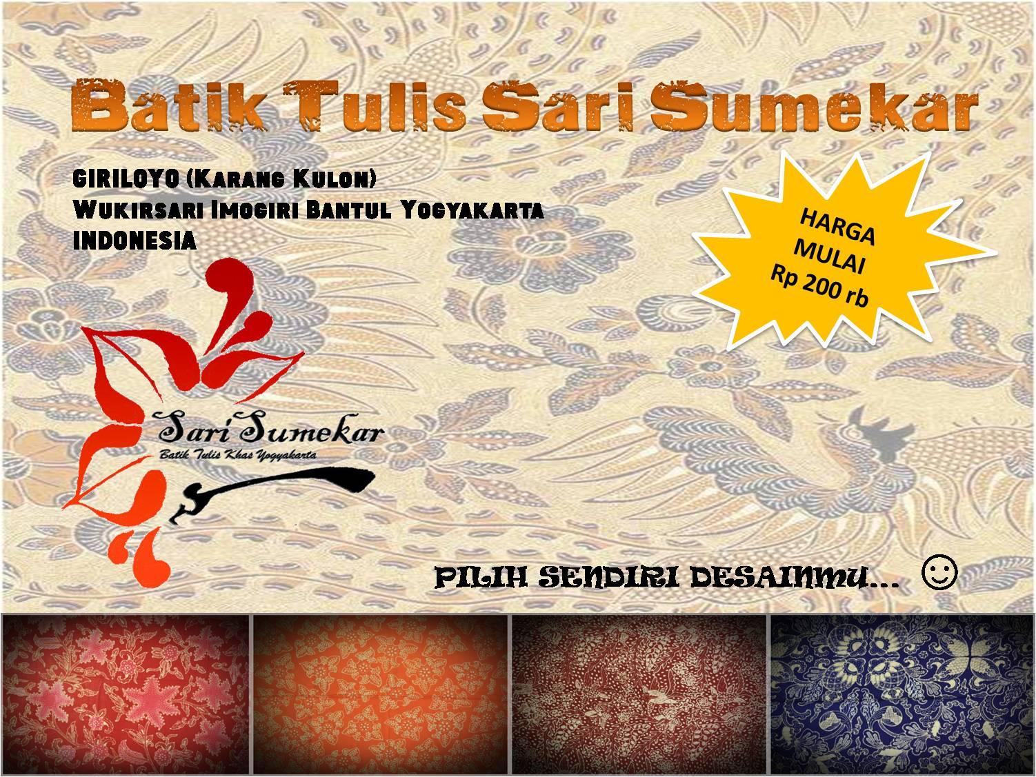 Katalog Batik Sari Sumekar Jogja Hp:087839108499 ...