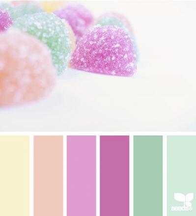 Buz n craft nueva ronda colores pastel - Paleta de colores valentine ...