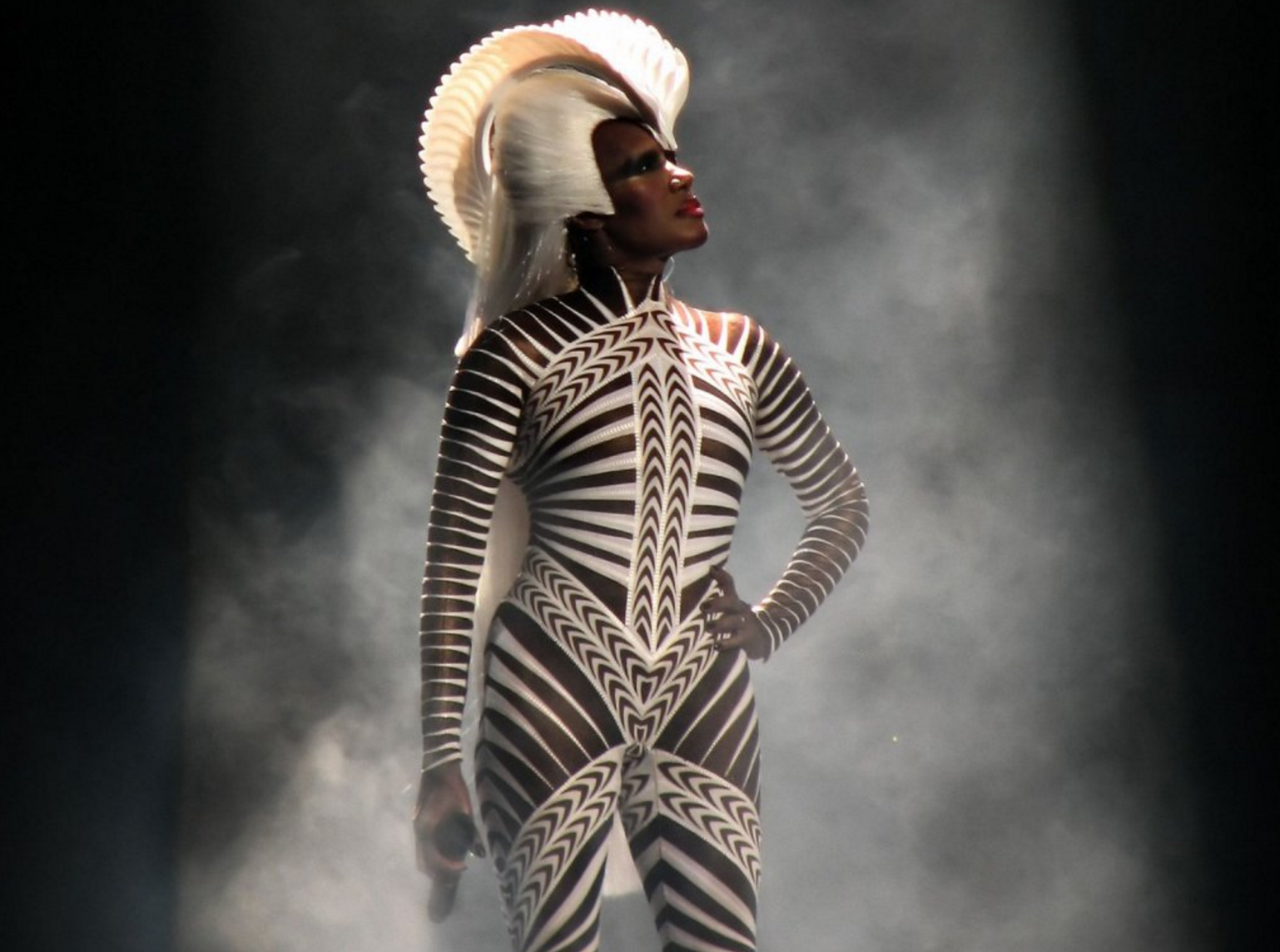The most scary woman on the planet - Miss Grace Jones is 70 years old today! 028cf7040196