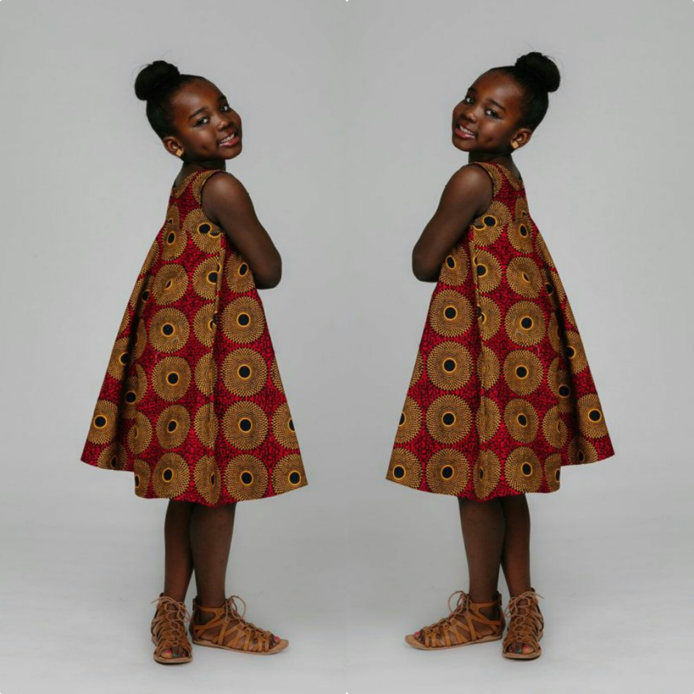 Lovely Kitenge Styles For Kids Fashenista