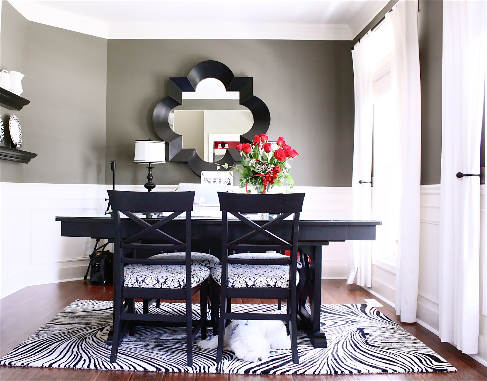 The Yellow Cape Cod: My Home Office Dining Room