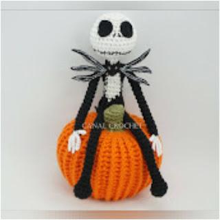 patron amigurumi Jack Skeleton canal crochet