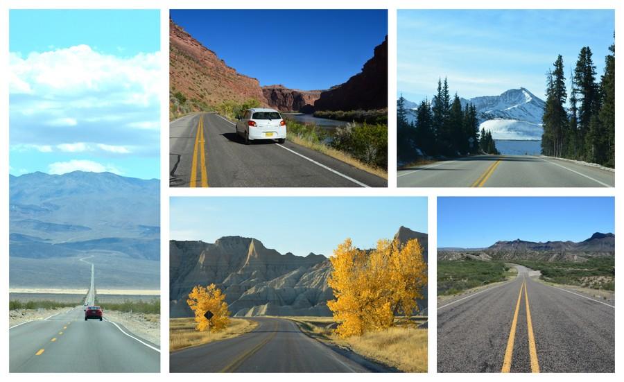 idées de road trips USA