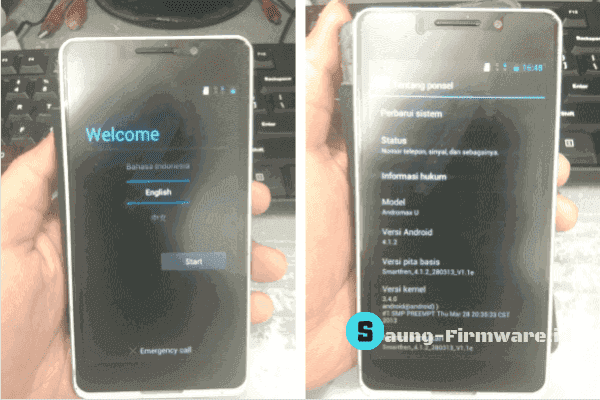 Firmware RAW Smartfren Andromax U (i6C) Tested