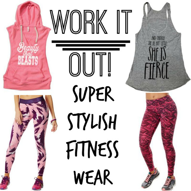 Work It Out: Super Stylish Fitness Wear  via www.productreviewmom.com