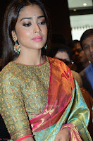 Shriya Saran Looks Stunning in Silk Saree at VRK Silk Showroom Launch Secundrabad ~  Exclusive 180.JPG