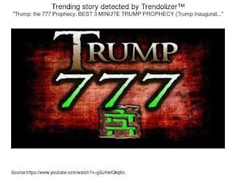 Những kì lạ mang tính khải huyền về TT Donald Trump .